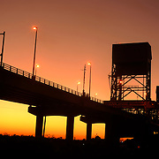 Cape Fear Memorial Bridge.  Photo By:  Jeff Janowski