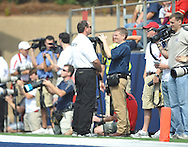 Photographers at Vaught-Hemingway Stadium in Oxford, Miss. on Saturday, September 24, 2011. The play, a touchdown, was called back due to penalty. Georgia won 27-13.
