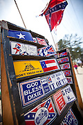 Confederate and racist bumper stickers in St. George, SC