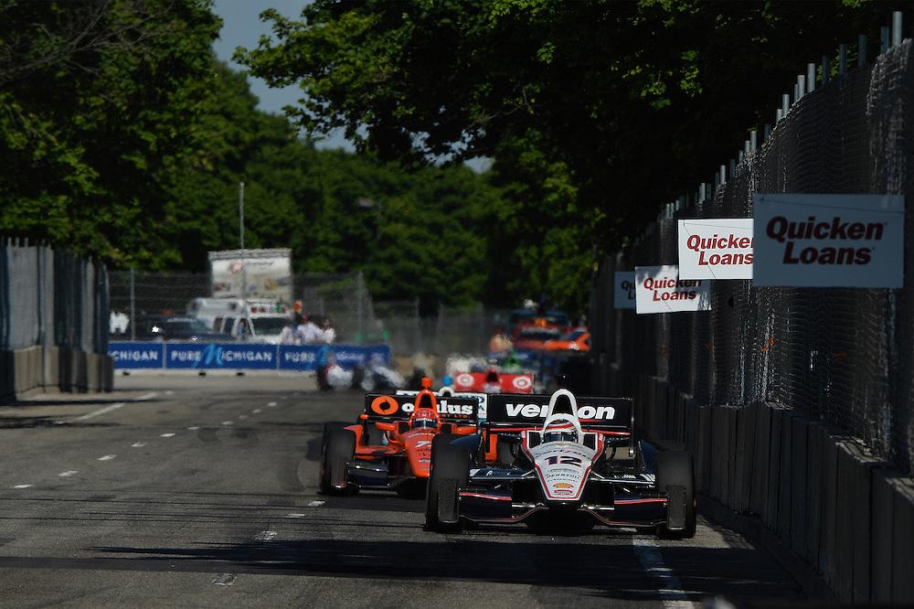 Will Power, The Raceway at Belle Isle Park, Detroit, MI USA 6/1/2014