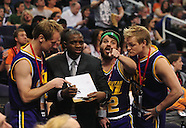 NBA: Utah Jazz vs Phoenix Suns//20110215