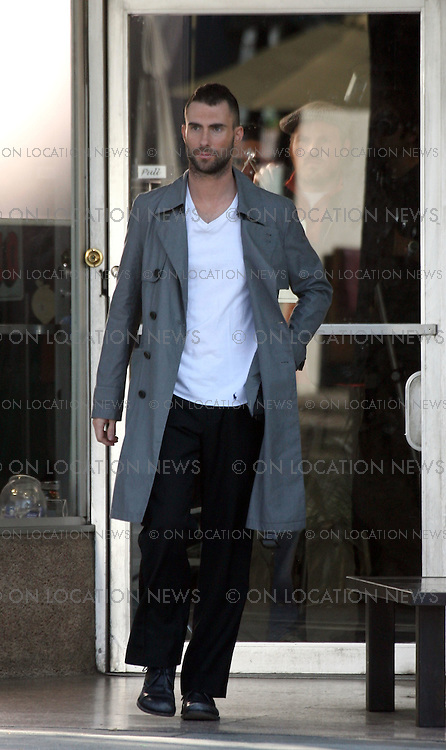 LOS ANGELES, CALIFORNIA - Thursday 10th January 2008. EXCLUSIVE: Adam Levine filming a music video for his band Maroon 5. Adam Levine has been romantically linked to Paris Hilton, Natalie Portman, Kirsten Dunst, Maria Sharapova, And Jessica Simpson.Photograph: David Buchan/On Location News. Sales: Eric Ford 1/818-613-3955 info@OnLocationNews.com