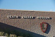 Exterior of Death Valley Museum at Furnace Creek - Death Valley National Park, California