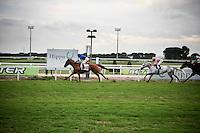 Roma - 07 Novembre 2010.Derby equitazione all' Ippodromo di Capannelle.Lanfranco Dettori vince per la 100esima volta con la scuderia Goldphin.foto:Stefano Meluni