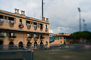 Roma - 07 Novembre 2010.Derby equitazione all' Ippodromo di Capannelle.vista degli edifici dell'ippodromo.foto:Stefano Meluni