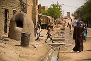 A communal oven in a street in Timkuktu, Mali.