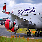 Virgin Aiflines jumbo