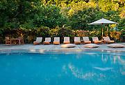 Swimming pool at Matangi Private Island Resort, Fiji.
