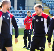 Dundee FC Training 21-04-2017