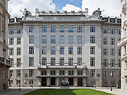 Front elevation. Post Office Savings Bank, Vienna, Austria 1904-12 Architect: Otto Wagner