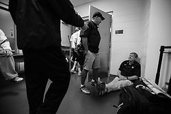 2013 May 24: Head coach John Danowski of the Duke Blue Devils during practice at Lincoln Financial Field in Philadelphia, PA.
