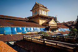Rooftop of Cholon market, Ho Chi Minh City, Vietnam, Southeast Asia