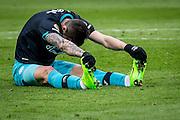 ROTTERDAM - Feyenoord - PSV , Voetbal , Eredivisie , Seizoen 2016/2017 , De Kuip , 26-02-2017 ,  PSV speler Gaston Pereiro baalt van gemiste kans