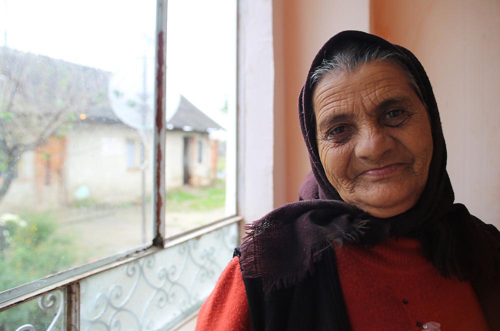 Razvan's grand-mother on his mum's side