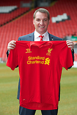 120601 Liverpool manager Brendan Rodgers