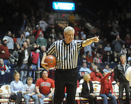 Official Tom Eades at Ole Miss vs. Auburn in Oxford, Miss. on Wednesday, February 24, 2010. Ole Miss won 85-75.