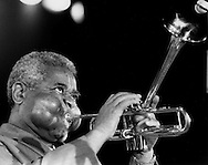 Dizzy Gillespie's performance at the 1984 Chicago Kool Jazz Fest.