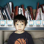 Ethan Jastak. Casey Brennan's kindergarten class at Hopkins Elementary School in Sherwood on Wednesday, May 23, 2012.