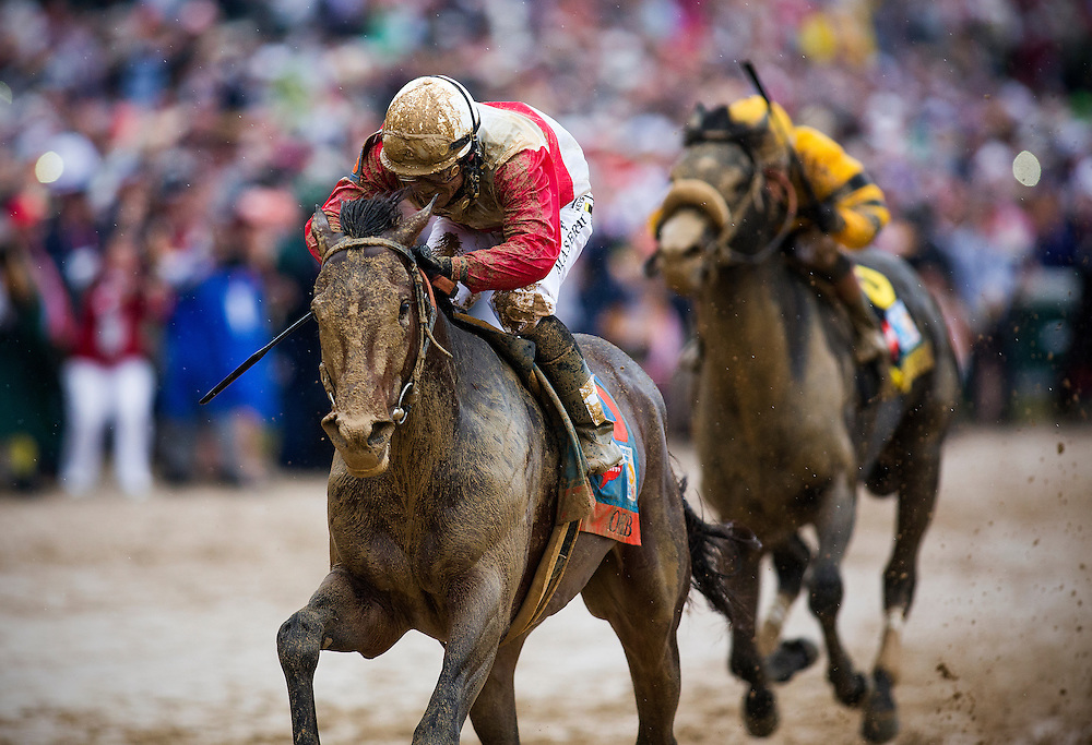 Orb with Joel Rosario aboard wins the Kentucky Derby at Churchill Downs in Louisville, KY on May 04, 2013. (Alex Evers/ Eclipse Sportswire)