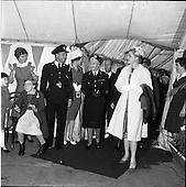 1961 - Princess Grace of Monaco at a Red Cross Party for at Dublin Zoo