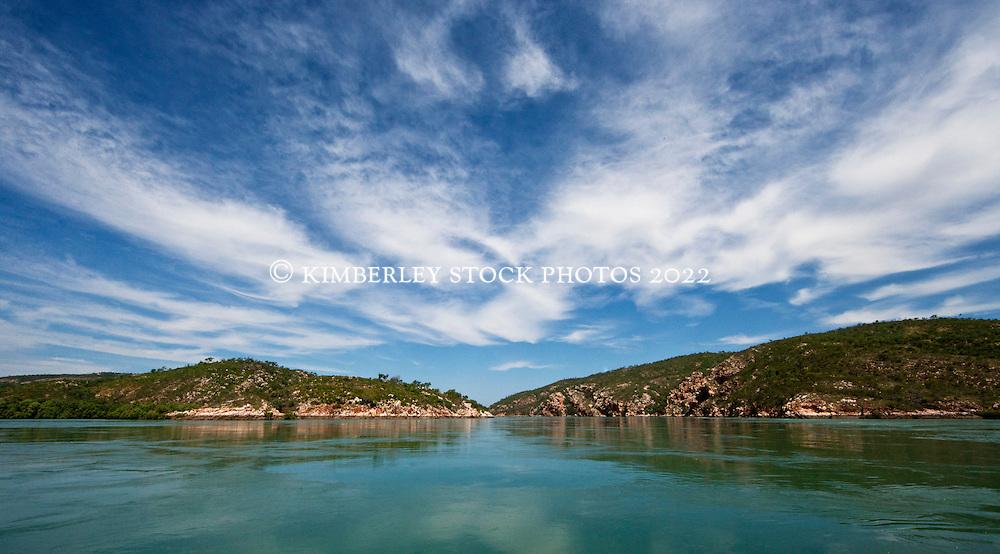 Secure Bay on the Kimberley coast.