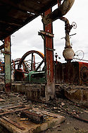 The remains of a sugar mill in Manuel Sanguily, Pinar del Rio Province, Cuba.