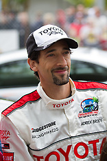 Actor Adrien Brody at the 2012 Toyota Celebrity/PRO Race