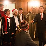 President's Christmas Party at Bozarth (Photo by Gonzaga University)
