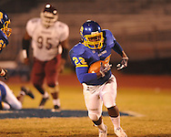 Oxford High vs. Indianola Gentry in high school football action at Bobby Holcomb Field in Oxford, Miss. on Friday, October 29, 2010.