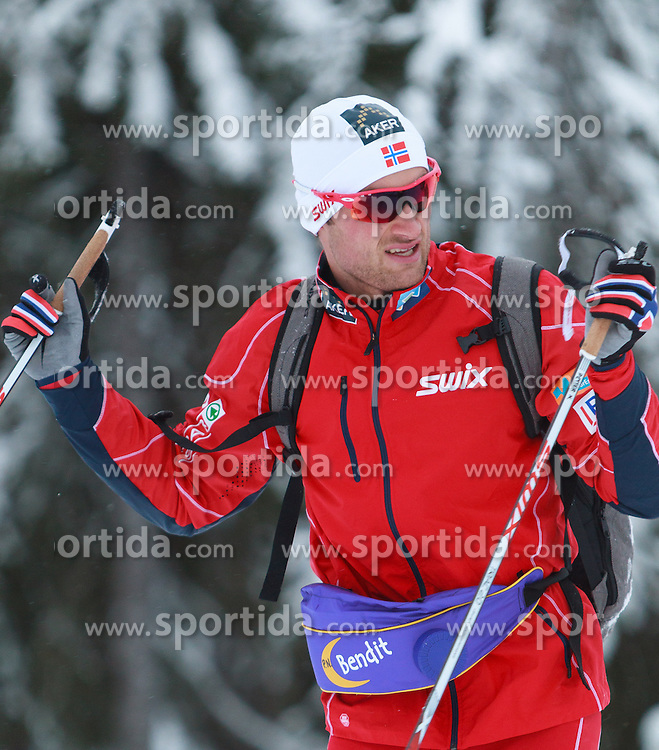 28.11.2013, Nordic Arena, Kuka, FIN, FIS Ski Nordisch Weltcup, Langlauf Herren Training, im Bild Petter Northug (NOR) // Petter Northug of Norway during the Mens FIS Cross Country World Cup Training of the Nordic Opening at the Nordic Arena in Kuka, Finland on 2013/11/28. EXPA Pictures © 2013, PhotoCredit: EXPA/ JFK