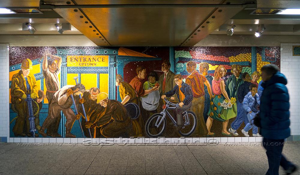 Manhattan Subway Station