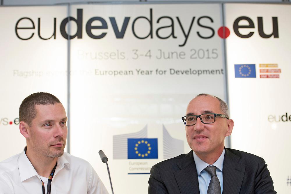 03 June 2015 - Belgium - Brussels - European Development Days - EDD - Energy - Multi-stakeholder partnerships for energy efficiency - Paolo Falcioni<br /> Director General , CECED - Paul Voss<br /> Managing Director , EHP &copy; European Union