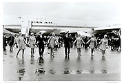 Pan Am 747 flight crew