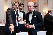 Tim Gunn with friends at the HRC's Greater NY Gala 2014 held at the Waldorf=Astoria in New York City on Saturday, February 8, 2014. (Photo: JeffreyHolmes.com)