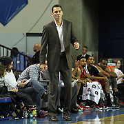 Fort Wayne Mad Ants Head Coach Conner Henry directing his player in the second half  of a NBA D-league regular season basketball game between the Delaware 87ers and The Fort Wayne Mad Ants Sunday, Dec. 15, 2013 at The Bob Carpenter Sports Convocation Center, Newark, DE