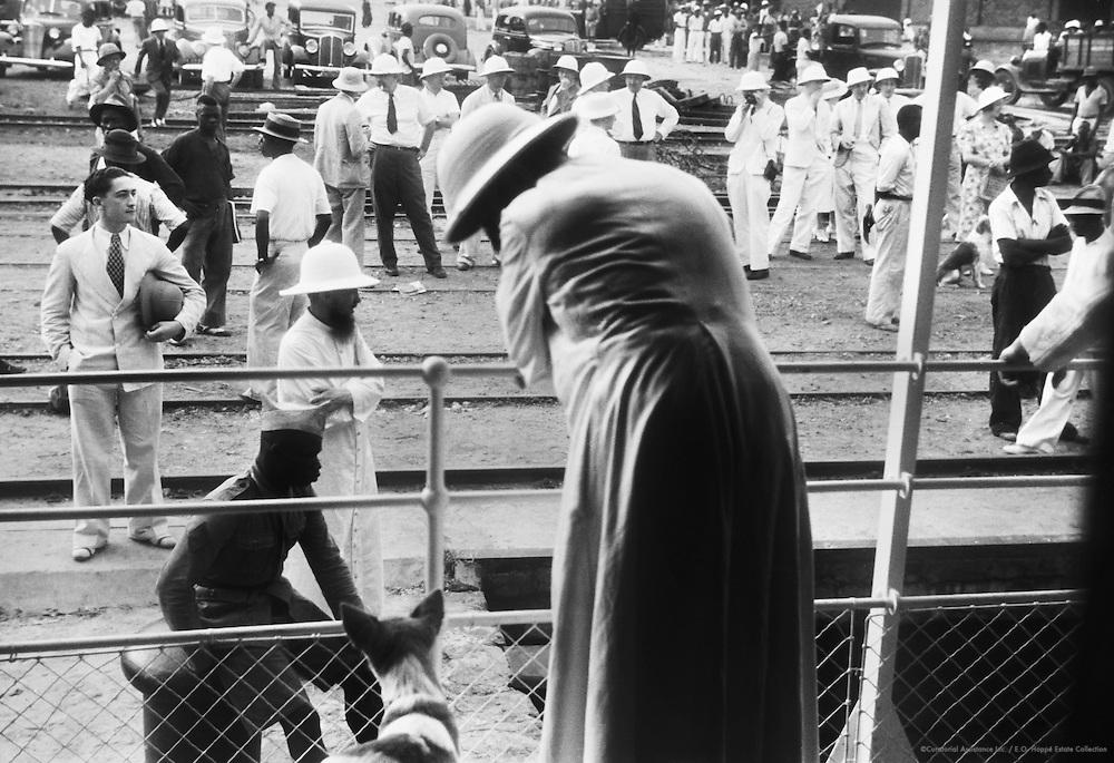 Railway Scenes, Leopoldville (now Kinshasa), Belgian Congo (now Democratic Republic of the Congo), Africa, 1937