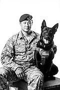 James Evatt<br /> Air Force<br /> E-5<br /> Security Forces, K-9<br /> OEF<br /> Present<br /> <br /> Veterans Portrait Project<br /> 802d Security Forces Squadron<br /> San Antonio, TX
