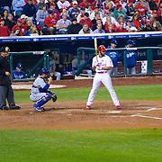 Philadelphia Phillies vs LA Dodgers at 2009 NLC Championship game at ciitzens bank park
