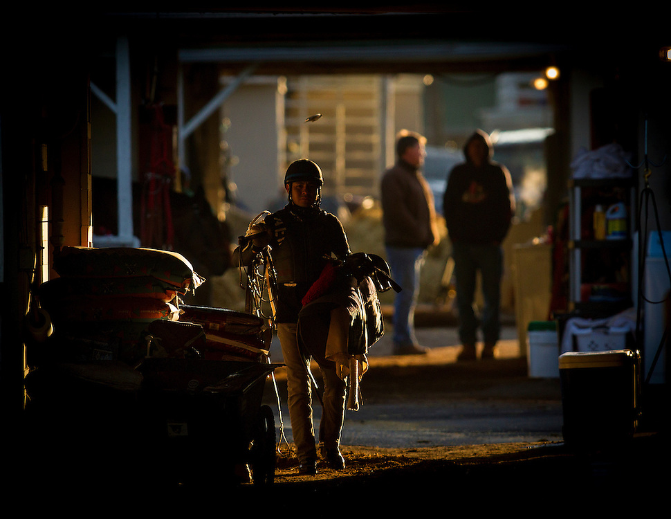 April 29, 2015: scenes from Dawn at the Downs at Churchill Downs Louisville Ky. Alex Evers/ESW/CSM