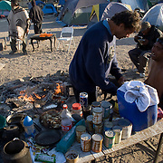 Camp Hope, eine Zeltstadt fuer Obdachlose in Ontario, Kalifornien..Fotos © Stefan Falke..Camp Hope, a  tent city for the homeless in Ontario, California.
