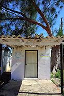 Small building in Puerto Esperanza, Pinar del Rio, Cuba.