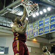 Canton Charge Center Arinze Onuaku (50) dunks the ball   in the second half of a NBA D-league regular season basketball game between the Delaware 87ers (76ers) and The Canton Charge (Cleveland Cavaliers) Friday, Jan 24, 2014 at The Bob Carpenter Sports Convocation Center, Newark, DEL.