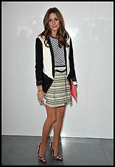 FEB 17 2013 Celebs London fashion Week