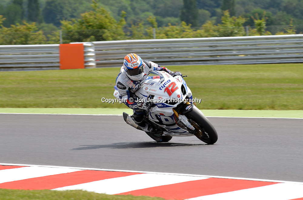 #12 Josh Waters Tyco Suzuki British Superbikes
