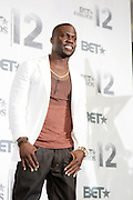June 30, 2012-Los Angeles, CA : Comedian/Actor Kevin Hart attends the 2012 BET Awards- Media Room held at the Shrine Auditorium on July 1, 2012 in Los Angeles. The BET Awards were established in 2001 by the Black Entertainment Television network to celebrate African Americans and other minorities in music, acting, sports, and other fields of entertainment over the past year. The awards are presented annually, and they are broadcast live on BET. (Photo by Terrence Jennings)