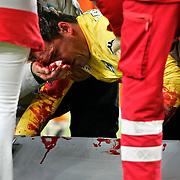 Reinke suffers shocking injury