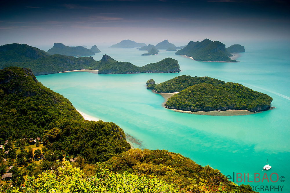 Ang Thong marine National Park. Gulf of Thailand. Thailand.
