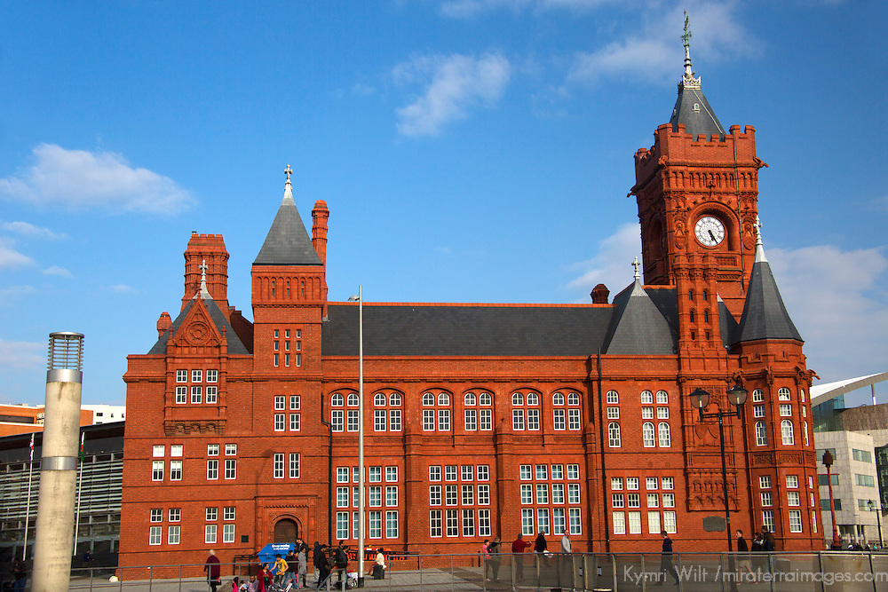Europe, United Kingdom, Wales, Cardiff. The Pierhead Building.