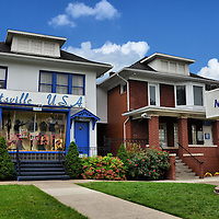Hitsville USA Motown Museum in Detroit, Michigan<br /> In 1959, Berry Gordy purchased 2648 West Grand Boulevard (left) in Detroit, Michigan. He formed a recording studio called &ldquo;Hitsville U.S.A.&rdquo; By the mid-1960s, Motown records occupied seven more houses, including the one on the right. Music stars he created included The Miracles, Stevie Wonder, The Supremes, The Jackson 5, The Temptations, The Four Tops, Gladys Knight &amp; the Pips plus many others. It is now a museum offering tours of where so much wonderful music was produced for 13 years.
