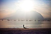Heeki Park at Playa de Botafogo, Rio do Janeiro